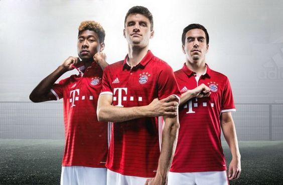 Nouveau Maillot Bayern Munich pas cher 2016 2017: