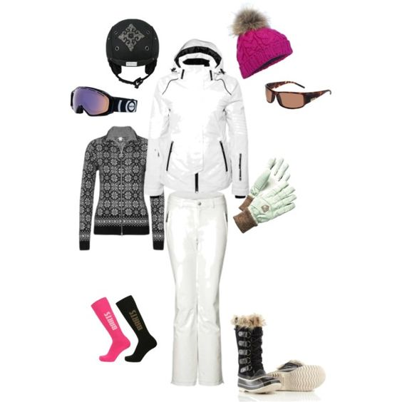Womens Ski Wear from Barts, Bogner, Bolle, Sorel and Hestra by white-stone on Polyvore featuring Bogner: