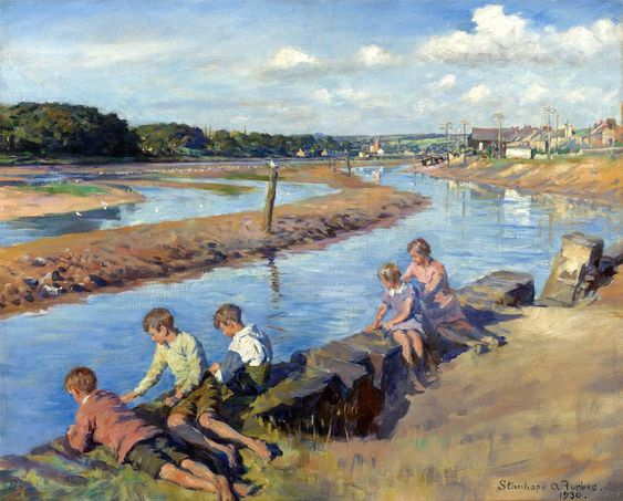 Stanhope Forbes | oil painting, Cornwall
