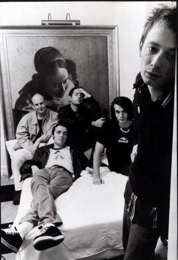 Thom Yorke and the rest of Radiohead.