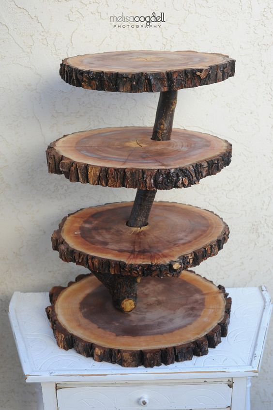 We have enough trees to make a ton of these!  I'm thinking...Christmas gifts!