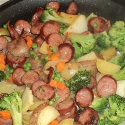 family of four yum yum yum dinner ideas pinterest kielbasa