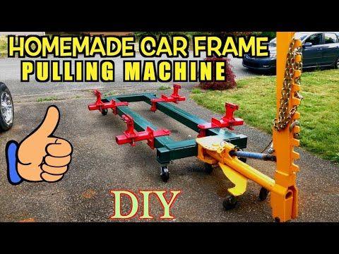 Home Made Car Body Frame Machine Frame Rack Collision Repair Equipment Universal Diy Jig Youtube Auto Body Repair Collision Repair Auto Body Work