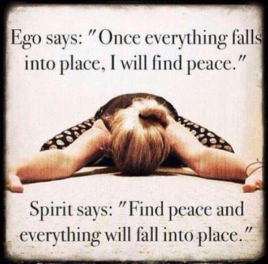 Find peace