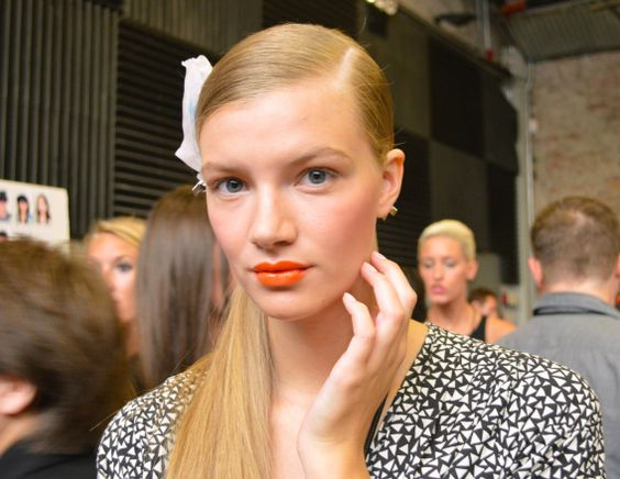 Orange is the new black: el naranja es el color de la #nyfw ss14