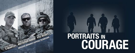 Portraits in Courage: Brantley, Parker, and Bushey