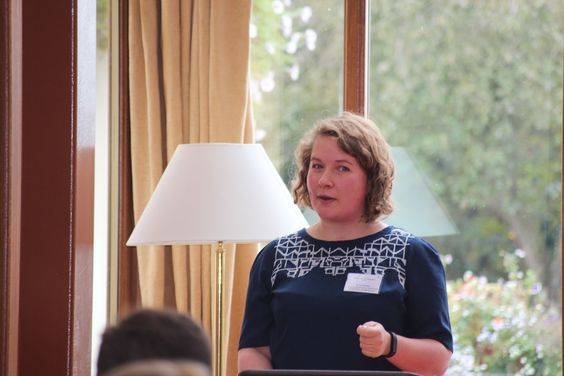 Vicky Howell, Quality Assurance Schemes Executive, VisitEngland speaking at the 2015 Eden Tourism Summit