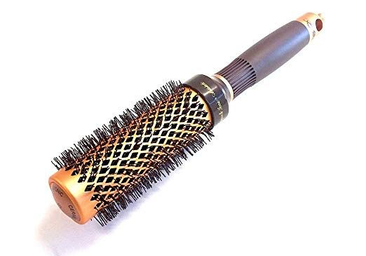 Khapor Copper And Ionic Thermal Brush 33mm Kp33 Review With