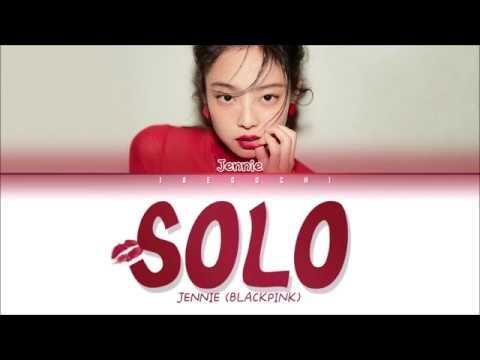 Jennie Blackpink Solo Lyrics Eng Rom Han Jennie