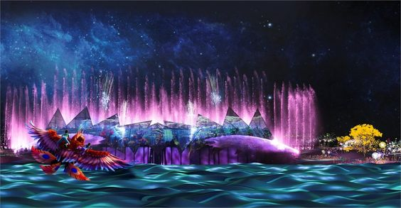 Wings of Time là chương trình sử dụng hiệu ứng thị giác với các tia laser.