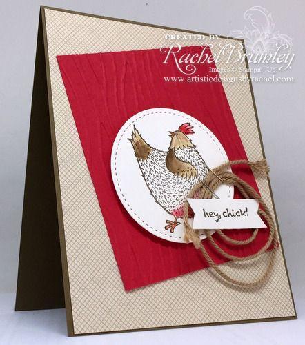 Hey Chick | Rachel Stamps