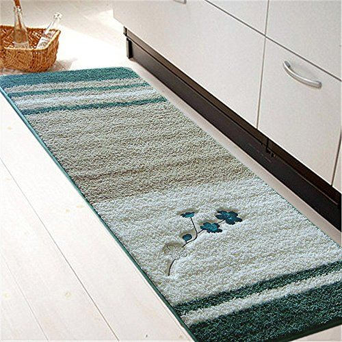 Softy Non Slip Kitchen Bathroom Mat Rug Rubber Backing Doormat