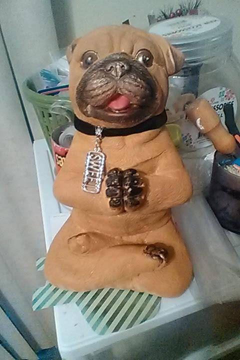Modern Yoga Figurines Tabletop Zen Garden Statues Chalkware Yoga Dog Statue Dog Yoga Dog Statue