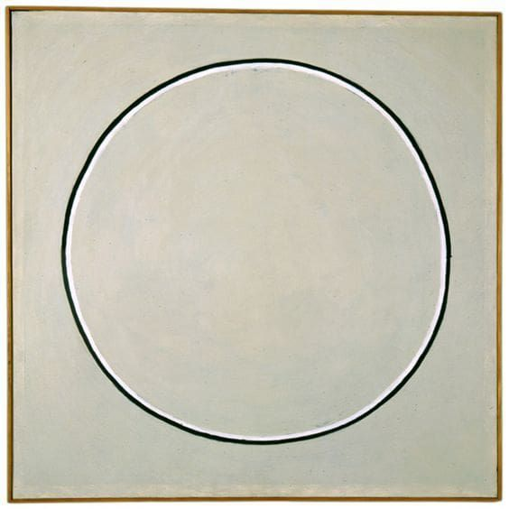 Untitled By Agnes Martin On Curiator The World S Biggest Collaborative Art Collection Agnes Martin Minimalist Painting Agnes