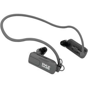 Pyle PSWB4BK 4GB Waterproof MP3 Player and Headphones, Black