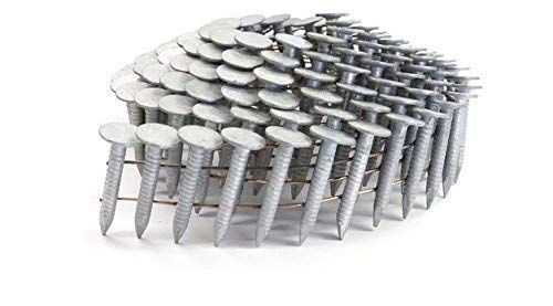 1 Smooth A153 D Hot Dip Coil Roofing Nails 7 2m Propak By Jev Cap Roofing Nails Roofing Plastic Roofing