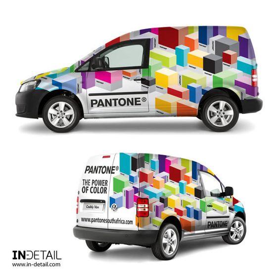 Pantone Vehicle Wrap