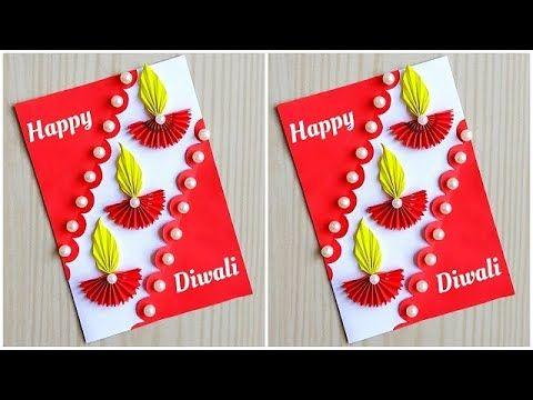 Diwali Card Making Handmade Easy How To Make Diwali Greeting Card Easy And Beautiful Diwali Card In 2021 Diwali Greeting Cards Diwali Card Making Diwali Greetings