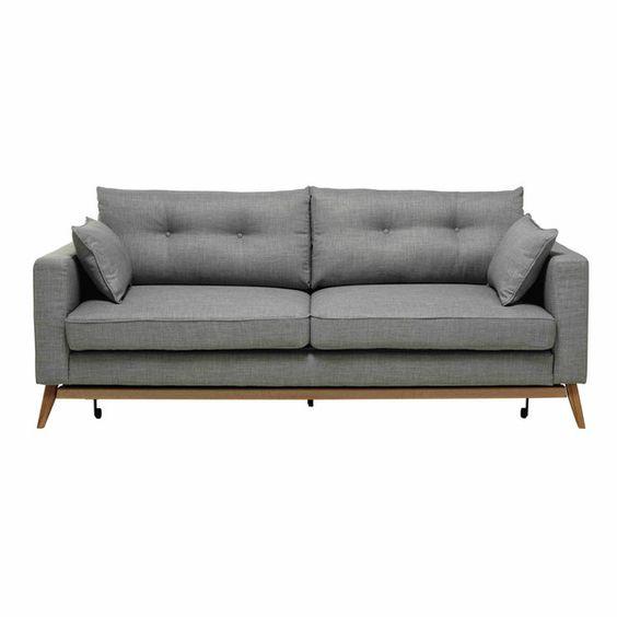 Ausziehbares Sofa 3-sitzig aus ... - Brooke