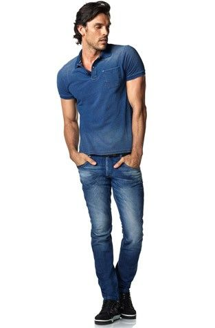 For a relaxed and modern look Salsa created Er-go jeans for men: the ergonomic 3D fit! #salsajeans