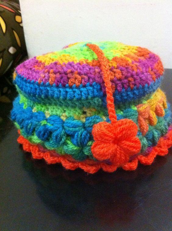 Crochet Colorful hat