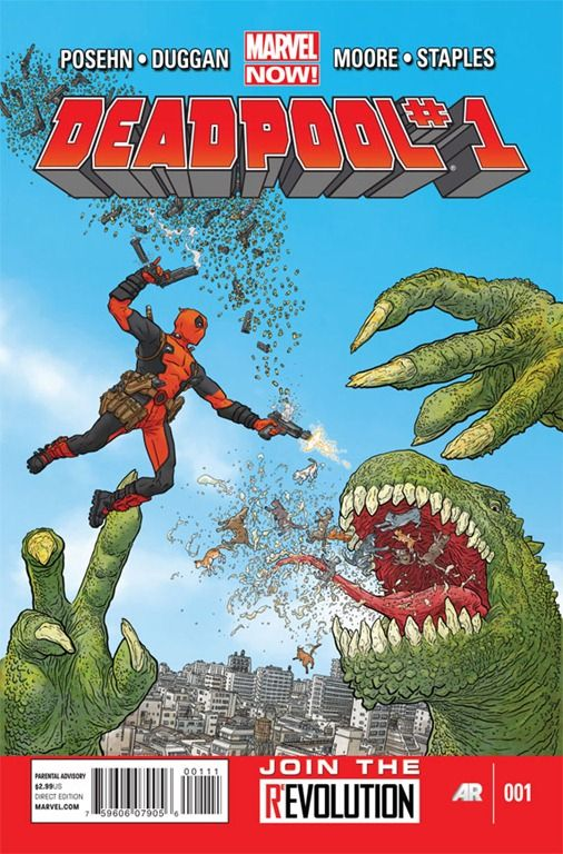 Deadpool #1 by Posehn, Duggan, & Moore Kicks Off in November