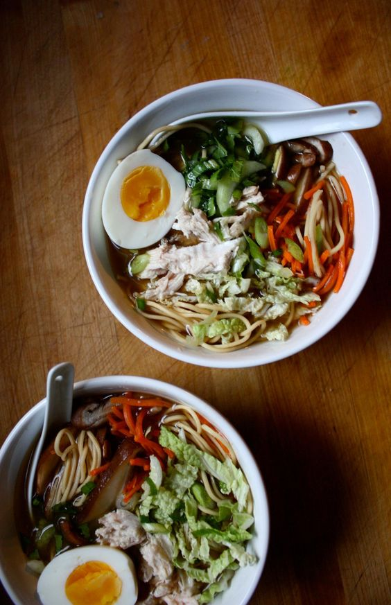 Turkey Ramen | Leftover turkey, Dishes and Beachbody