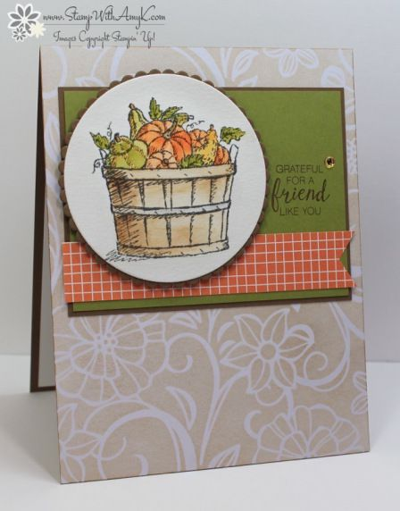 Stampin' Up! Basket of Wishes for Fab Friday