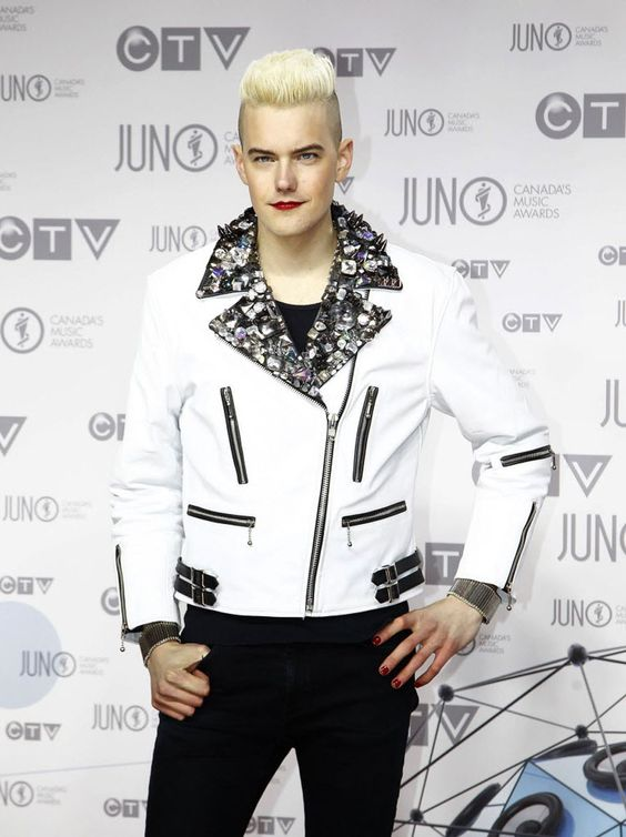 Diamond Rings on The Juno Red Carpet  @NationalPost