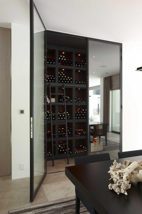 Vlassak-Verhulst Exclusieve Villabouw #WineCellar