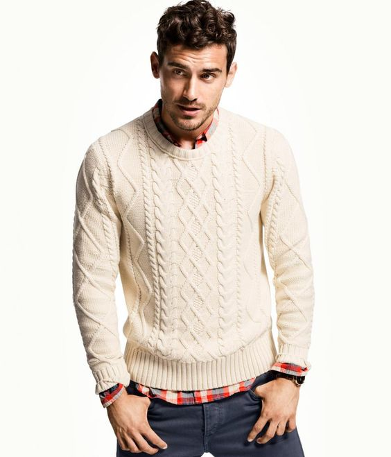 sweaters cable knits winter aran sweaters cable knit sweaters plaid ...