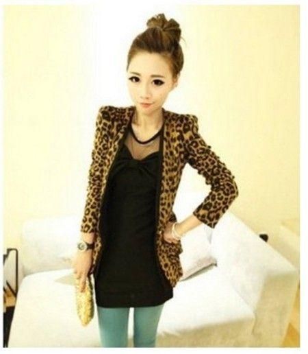 Blazer Leopardo