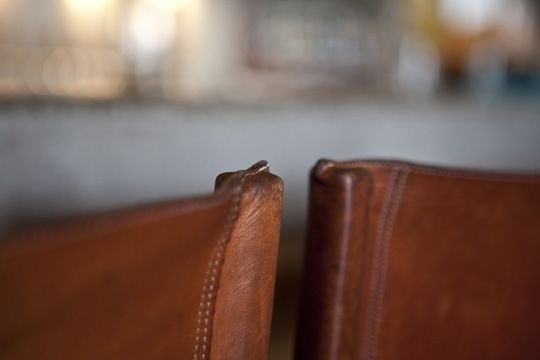 Good Place to Gather: Contigo, Austin - leather chairs