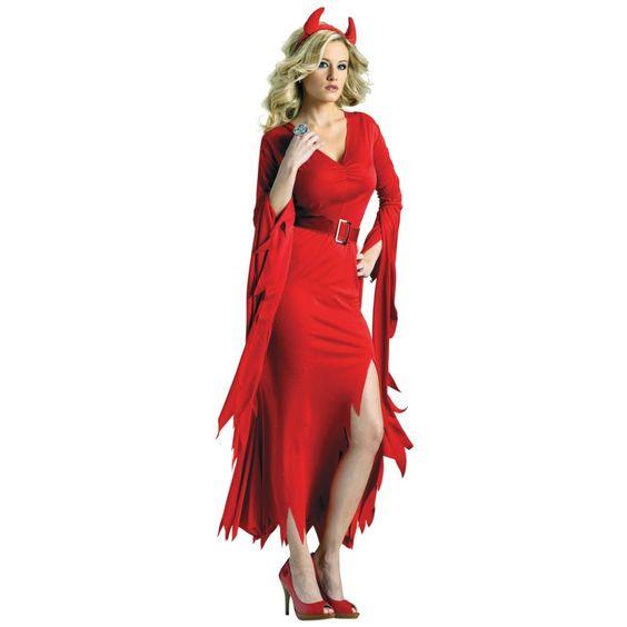 Gothic Devil Halloween Costume for Women Halloween costume for - angel halloween costume ideas