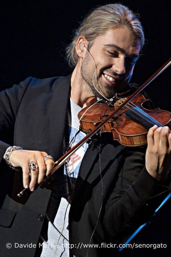 David Garrett in Milan, 2011 novembre 26 crédit photographique: © Davide Merli