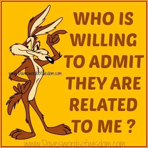 Who is willing to admit