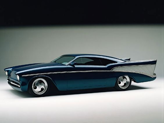 """Boyd Coddington custom '57 Chevy, """"Chezoom"""" Win the powerball for big money I'm finding it and buying it."""
