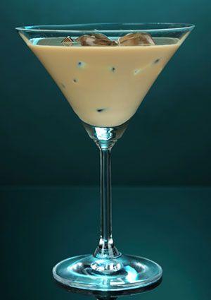 Almond Joy Cocktail     1/2 ounce coconut rum     1 ounce amaretto     1 ounce creme de cacao     2 ounces cream