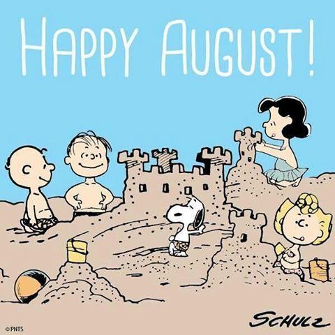 Que Agosto traga só felicidade e positividade pra todos nós!! 🙏🍃🌞🍀 #goodmorning #monday #happyaugust #snoopy #charliebrown #sally #linus #lucy #peanuts
