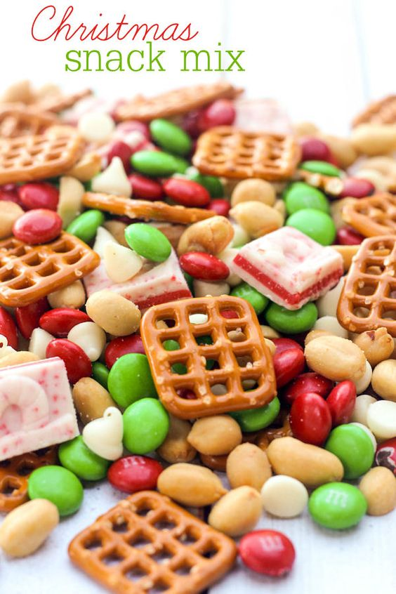 Christmas snack mix, Christmas snacks and Snack mixes on Pinterest