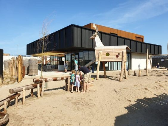 Netherlander cottages created by Qurios Zandvoort by 2by4-architects