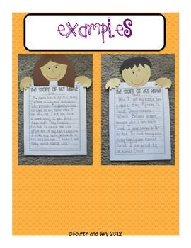 The Story of My Name Writing and Craftivity! Perfect for back to school! $2.25
