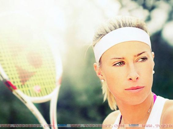 Andrea Hlavackova is beautiful Czech tennis player who is known for her aggressive game play. Description from top2best.com. I searched for this on bing.com/images