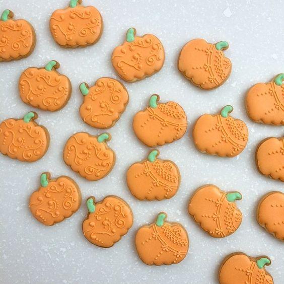 Pumpkin cookies  // &Bake Masuko
