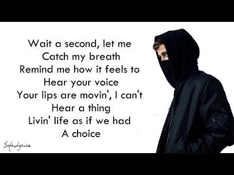 Sing Me To Sleep Alan Walker Lyrics Youtube Sing Me To