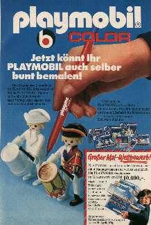 Playmobil zum Bemalen - hatte ich total vergessen!