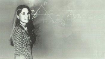 Math teacher Janice King in the 1973 yearbook of Agoura high school in Agoura Hills, California.  #1973 #Agoura #MathTeacher #yearbook