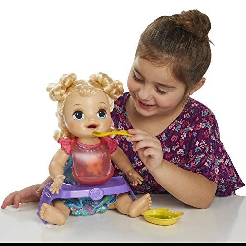 Baby Alive Happy Hungry Baby Curly Hair Dolls Baby Alive Baby Alive Dolls