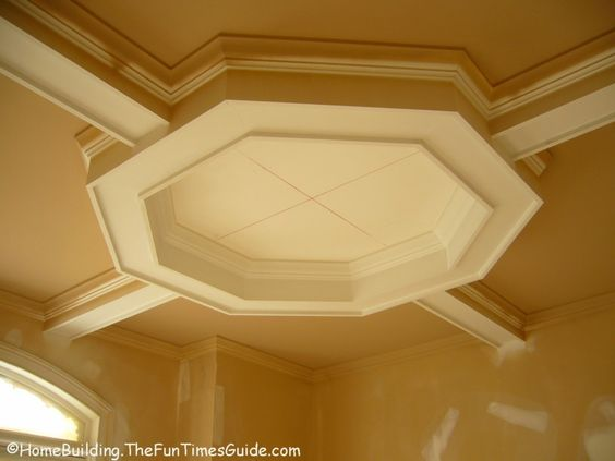 coffered ceiling octagonal shaped coffered ceiling