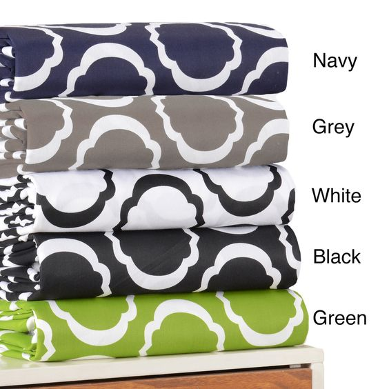 Cotton Blend Scroll Park Sheet Set or Pillowcase Separates | Overstock.com Shopping - Great Deals on Sheets